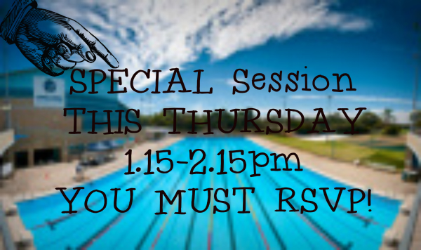 RSVP for Thursday's Special Lunch DWR'ing Session