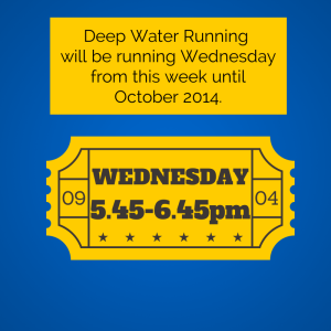 Wednesday Deep Water Running Perthket
